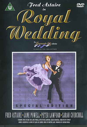 Royal Wedding DVD front cover